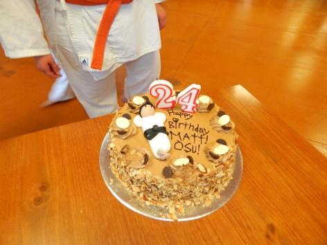 Sensei Matthews Birthday